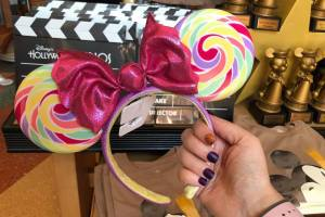Lollipop Minnie Mouse Ears
