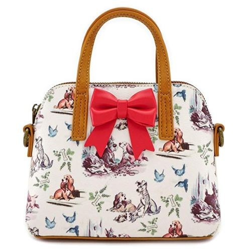 Disney Discovery Loungefly X Lady And The Tramp Bow Bag
