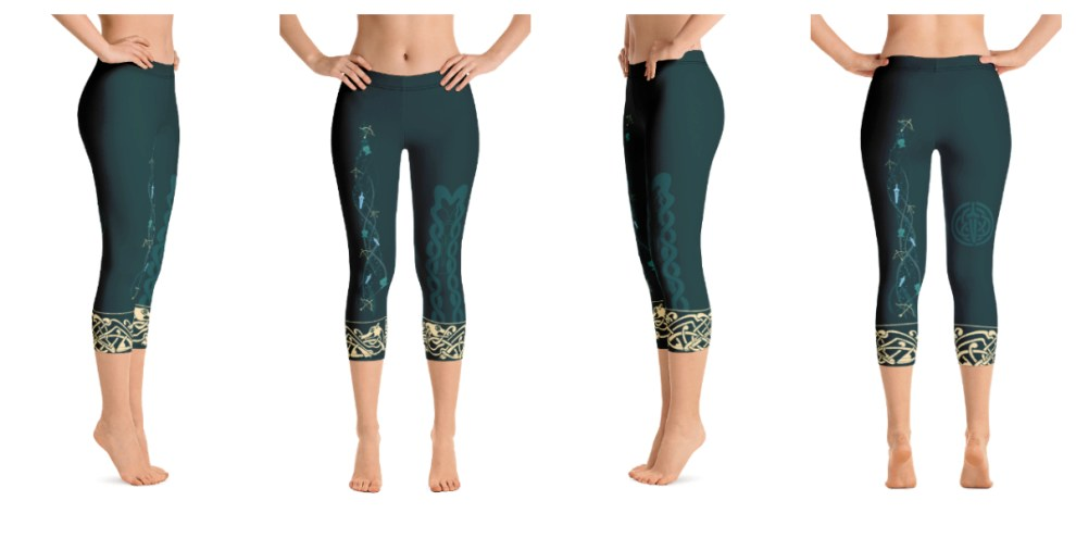Merida Inspired Leggings