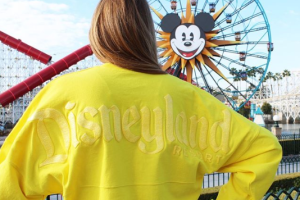 Yellow Disney Spirit Jersey