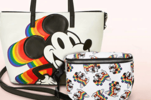 Rainbow Mickey Loungefly Collection