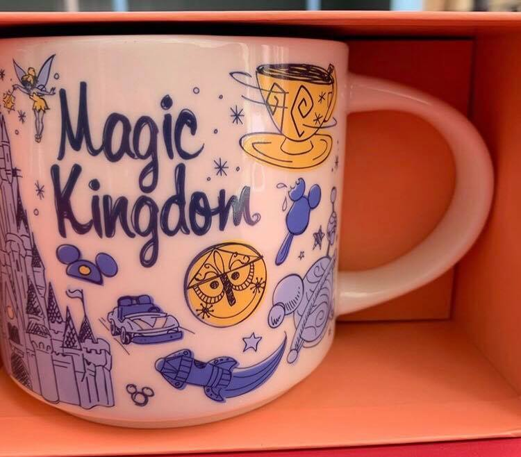 Starbucks Been There Disney Parks Mugs