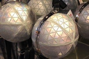 Spaceship Earth Wristlet Purse