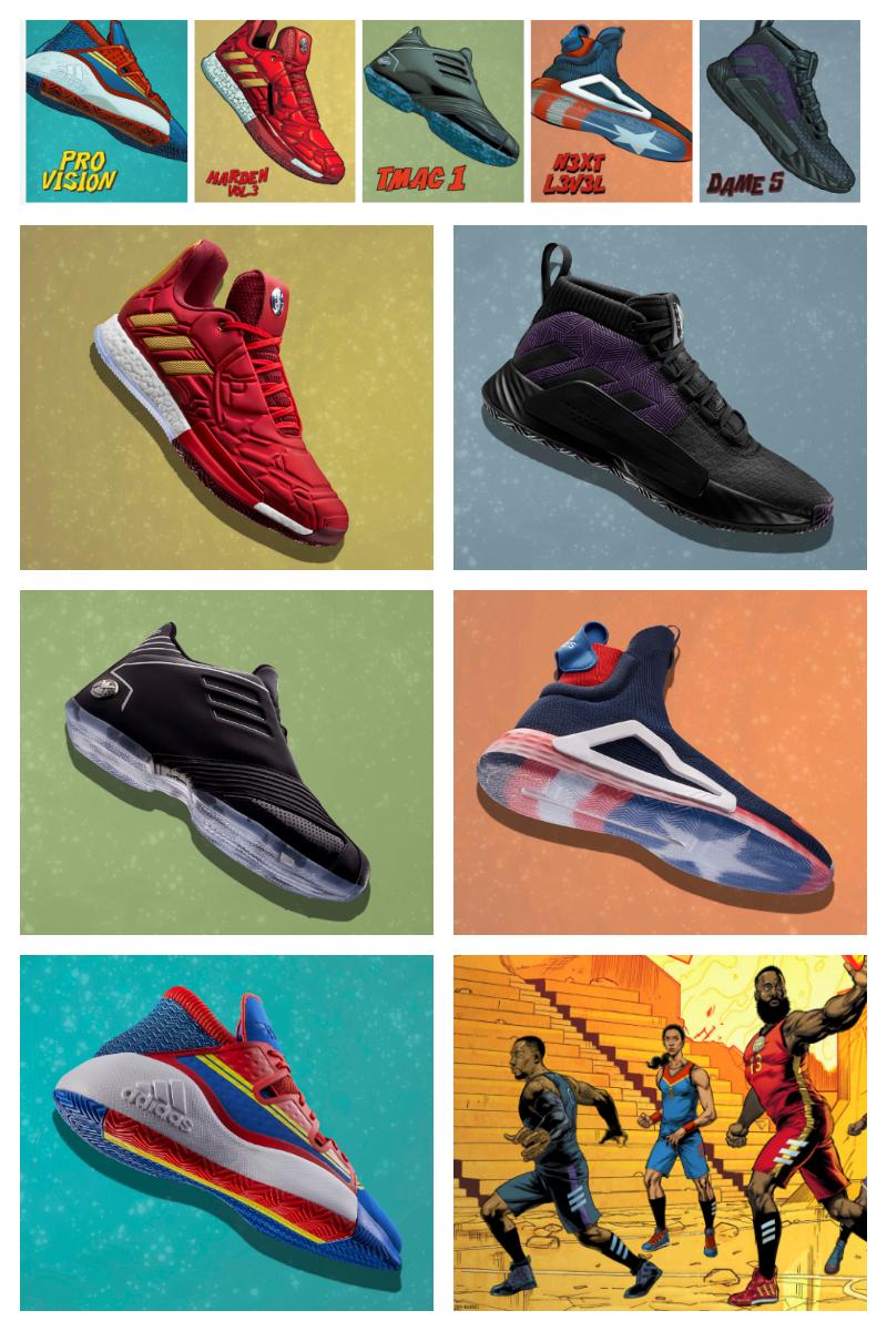 Avengers Adidas Now At Foot Locker