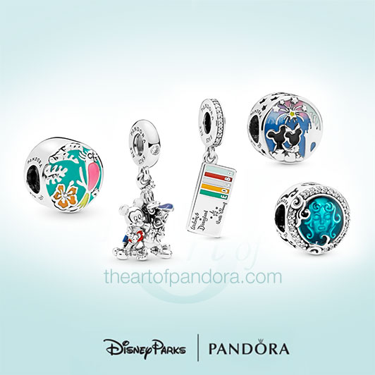Disney Parks Summer Pandora Collection