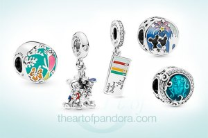 Disney Parks Summer Pandora Collection