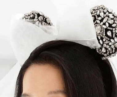 Vera Wang Bridal Minnie Ears