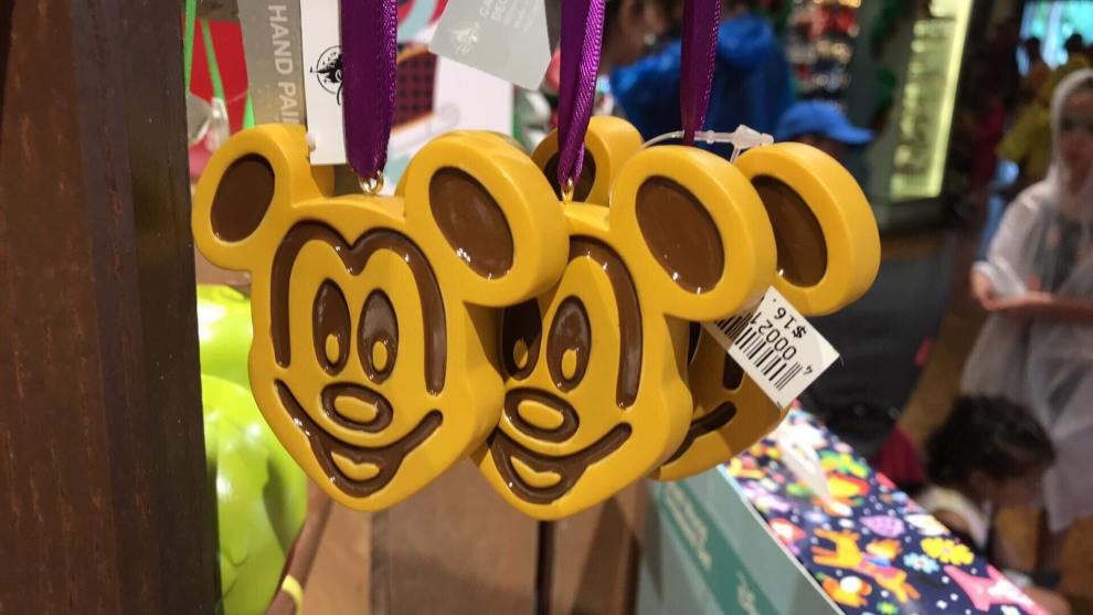 Disney Snack Ornaments