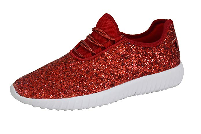 Disney Discovery- Ruby Red Glitter Sneakers
