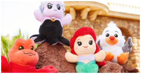 Little Mermaid Wishables