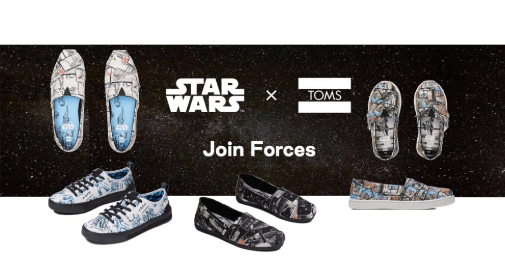 TOMS x Star Wars