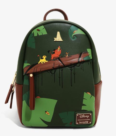 Loungefly Disney Lion King Backpack Hakuna Matata Timon Pumbaa Simba