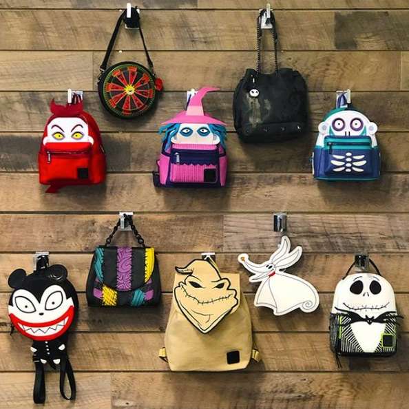 Nightmare Before Christmas Loungefly Collection