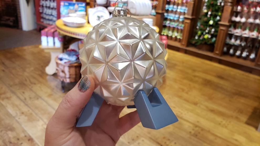 Spaceship Earth Ornament