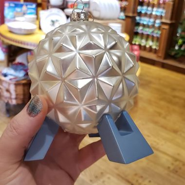 Spaceship Earth Ornament