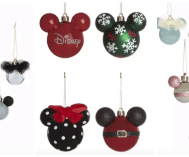 Primark Disney Ornaments