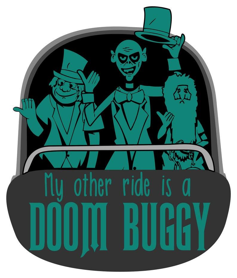 Doom Buggy Sticker
