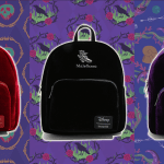 Disney Villains Velvet Backpacks