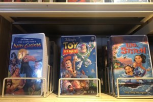 Vintage Disney VHS Notebooks