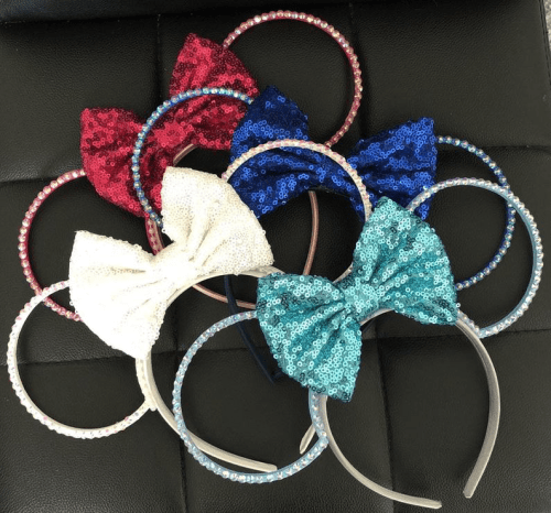 Birthstone Minnie Ears