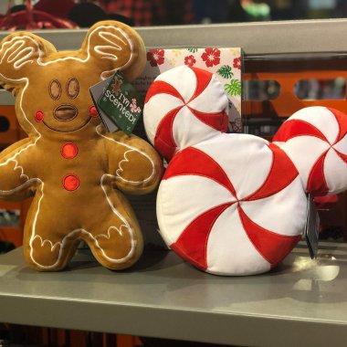 Disney Holiday Snack Plush