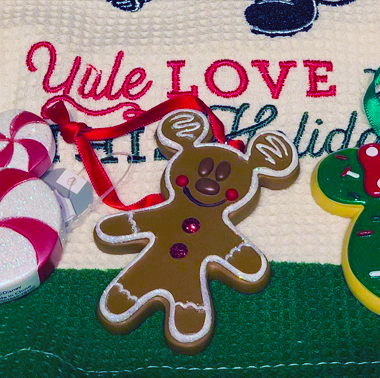 Disney Holiday Snack Ornaments