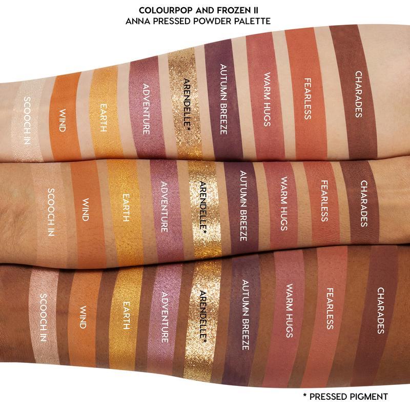 Frozen Colourpop Makeup Collection