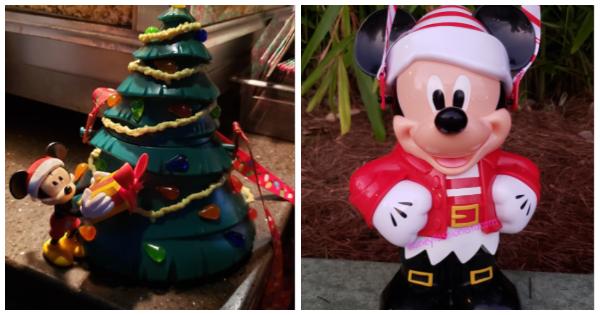 Disney Holiday Popcorn Buckets