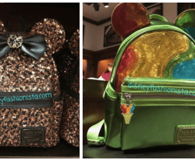 Sequined Aulani Backpacks