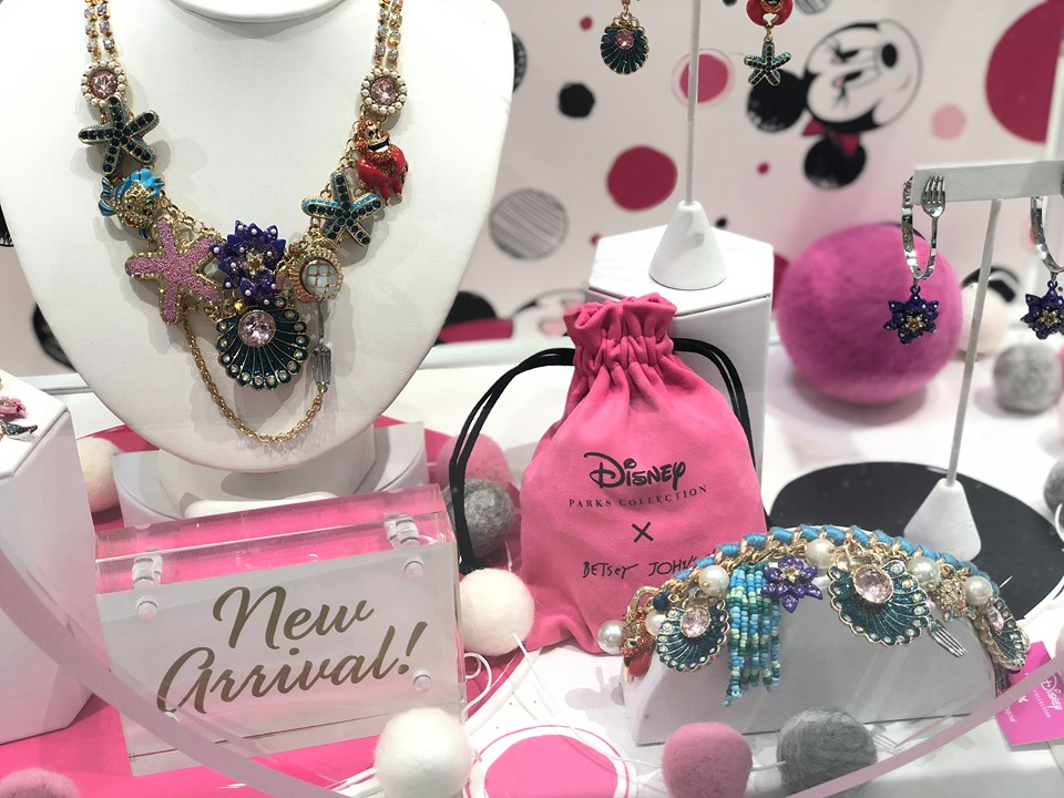 Little Mermaid Betsey Johnson Jewelry