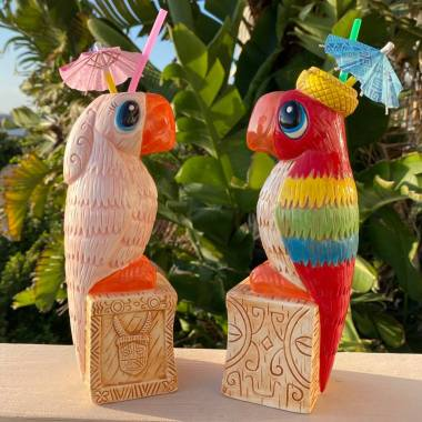 Enchanted Tiki Room Tiki Mugs