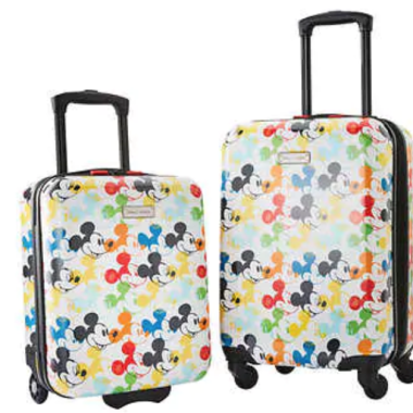 Mickey Suitcases