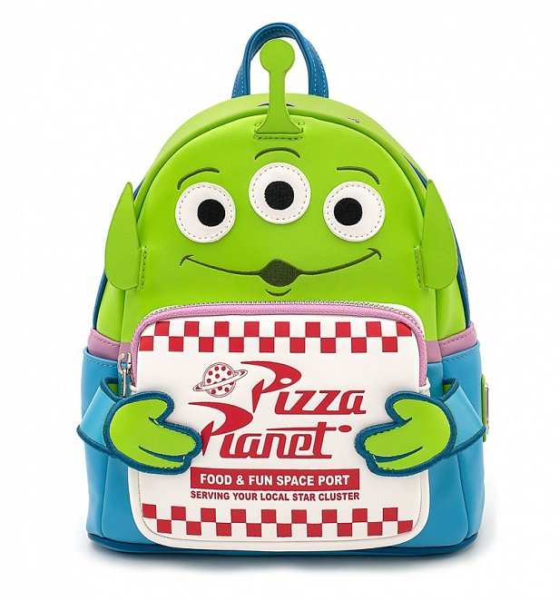 Green Alien Backpack
