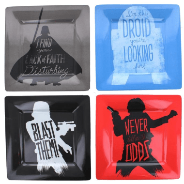 Star Wars Melamine Plate Set