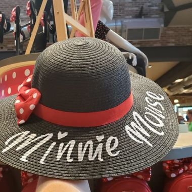Minnie Straw Hat