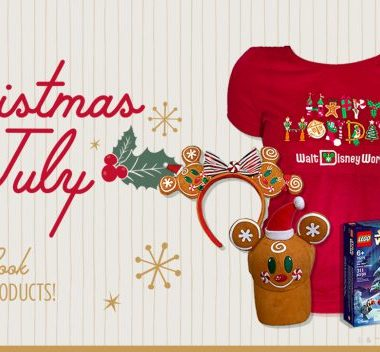 Disney Parks Christmas Merchandise