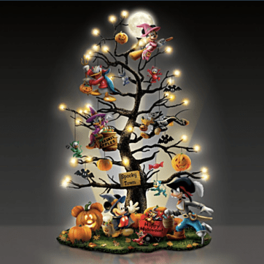 Disney Halloween Tabletop Tree