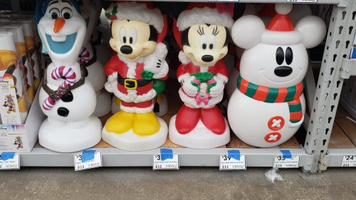 Disney Christmas Decorations Arrive At Lowe S