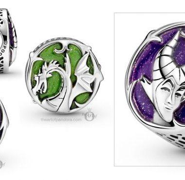 Maleficent Pandora Charm
