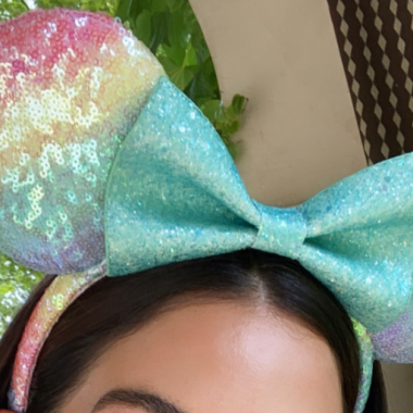 Lily Aldridge Minnie Ears