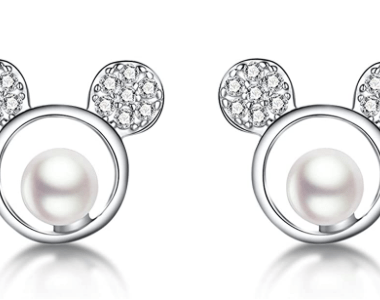 Mickey Pearl Earrings
