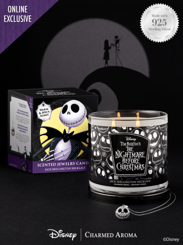 The Nightmare Before Christmas Candle