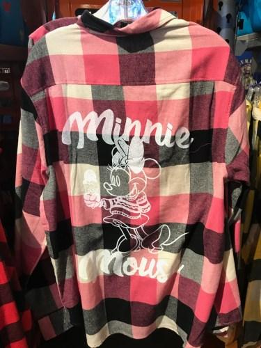 Holiday plaid flannel shirt