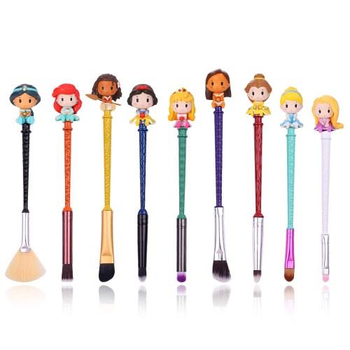 Disney Princess makeup brushes