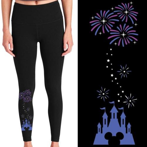 Disney Castle pocket leggings