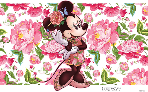 Minnie Mouse Floral Tervis