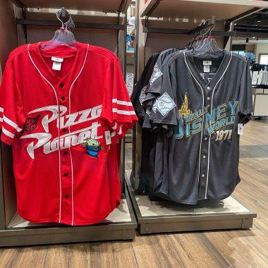 Disney Baseball Jerseys