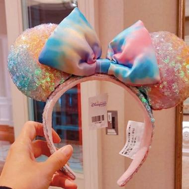Pastel Tie Dye Ears