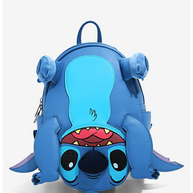 Figural Stitch Loungefly Mini Backpack