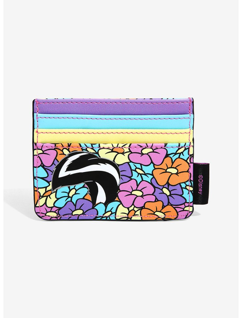 Flower in Flowers backpack and cardholder